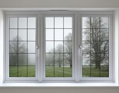 Sash window restorations specialists perform their double glazing techniques and returned the original glory of this elegant white window Front Window Design, Wooden Window Design, Window Grill Design Modern, House Window Design, Door Gate Design, New Home Windows, Interior Windows, House Windows, Upvc Windows
