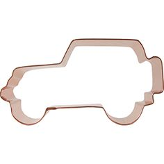 SUV with Tire Cookie Cutter