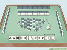 How to Play Mahjong. Mahjong is a strategy game that originated in China. It's similar to rummy, but it's played with tiles instead of cards. Generally, you play with 4 people, though you can play with 3 as well. Fun Games, Games For Kids, Games To Play, Mahjong Online, Picture Puzzles, Strategy Games, Kids Church, Game Night, China