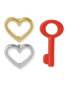 Marc Jacobs 'Key to My Heart' Earring Set http://rstyle.me/n/wk2zznyg6
