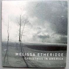 Melissa Etheridge #Christmas In America 4trk Promo Cd 2008 Blue Xmas + Baby Home #Christmas