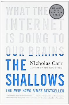 The Shallows: What the Internet Is Doing to Our Brains by Nicholas Carr, http://www.amazon.com/dp/0393339750/ref=cm_sw_r_pi_dp_x.jCrb1V52K22