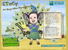 Build Your Wild Self - a wonderful interactive site for kids that lets them customize their very own wild self