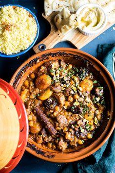 Moroccan Lamb Tagine Moroccan Tagine Recipes, Moroccan Lamb Tagine, Moroccan Dishes, Moroccan Lamb Recipe, Lamb Recipes, Meat Recipes, Cooking Recipes, Healthy Recipes, Savoury Recipes