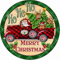 Christmas Truck, Christmas Signs, Christmas Pictures, Christmas Art, Christmas Wreaths, Christmas Decorations, Christmas Clipart, Xmas, Deco Mesh Wreaths