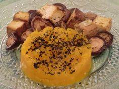 Ma petite cuisine gourmande sans gluten ni lactose: Purée de courge butternut aux shïtakés et au tofu fumé