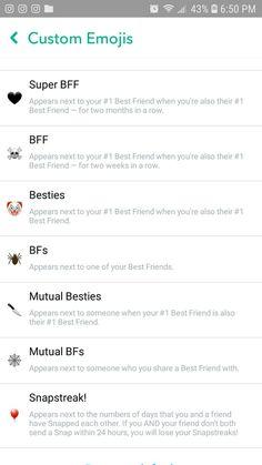 Friends Emoji, Snap Friends, Snapchat Friend Emojis, Snapchat Names, Snapchat Streak, Best Friends, Yellow Snapchat, Snap Emojis, Snapchat Story Questions