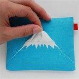 鐵漢柔情必備的「富士山面紙套」
