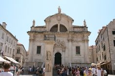 St. Blaise in Dubrovnik.