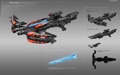 ArtStation - Weapons, Tom Stockwell