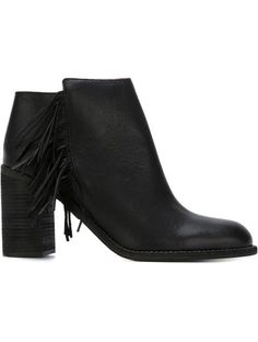 See By Chloé Fringed Ankle Boots