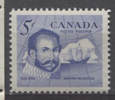 Martin Frobisher was actually an English seaman who made three voyages to Canada to  discover the Northwest Passage. He was also instrumental in defending England against the Spanish Armada for which he was knighted in 1588.