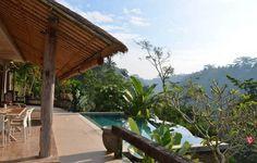 Villa Sagitta: Peace & tranquility near Ubud with magnificent river gorge views - Tampaksiring Beautiful Villas, Ubud, Vacation Villas, Trip Advisor, Swimming Pools, Pergola, Outdoor Structures, Costa, Bali