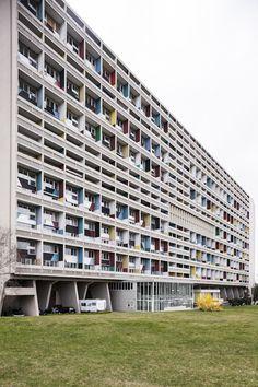 Unite d'Habitation Berlin // Le Corbusier