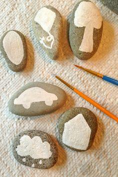 Diy story stones
