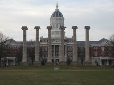 University of Missouri, Columbia, Missouri - Went there the first semester of my freshman year but transferred to the University of Kansas because my friends and now husband were all there! Thomas Jefferson, Jefferson City, Sporting Kansas City, Places To See, Places Ive Been, Kentucky, Columbia Missouri, The Darkling, University Of Kansas
