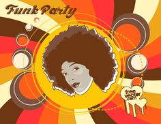 FreeVector-Funk-Party-Flyer.jpg (2000×1545)