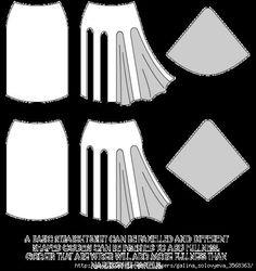Моделирование юбок. . Обсуждение на LiveInternet - Российский Сервис Онлайн-Дневников
