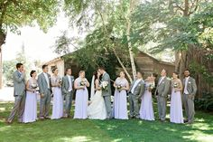 Lavender Bridal party
