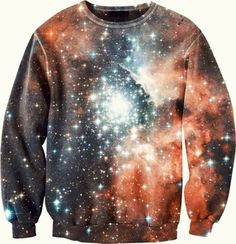 It's chill, I'm just WEARIN' THE UNIVERSE.