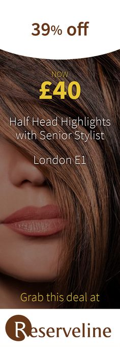Last minute. Click through to save on half-head highlights with senior stylist Galina! Long Hair Highlights, Hair Strand, Appointments, Coupons, Salons, Stylists, Health Fitness, Long Hair Styles, Beauty