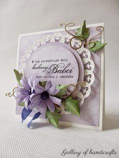 Gallery of handicrafts: Pastelowy liliowy