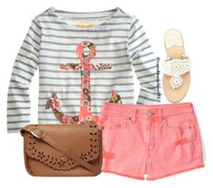 """""""Anchors Away"""" by carolinescloset93 ❤ liked on Polyvore featuring J.Crew, Aéropostale, Jack Rogers and Dorothy Perkins"""