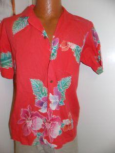 Vintage Java Wraps Mens Hawaiian Shirt by PfantasticPfindsToo