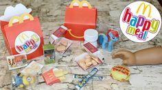 DIY American Girl McDonald's Happy Meal
