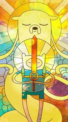 Adventure Time Illustration by MomerathAyD Via Dalai Karma Abenteuerzeit Mit Finn Und Jake, Finn Jake, Cartoon Adventure Time, Adventure Time Art, Cartoon Network, Princesse Chewing-gum, Adveture Time, Adventure Time Wallpaper, Finn The Human