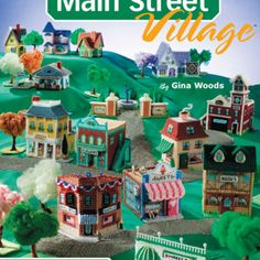 Homes and house in Plastic canvas patterns http://www.bookdrawer.com/recommends/main-stree-village