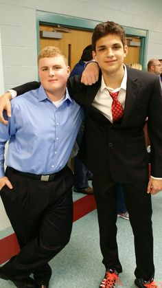 Friends This was taken at 8th grade graduation May 2014