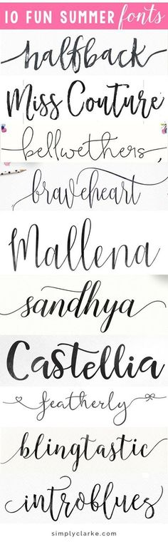 halfback miss couture bellwethers braveheart sandhya sandhya castellia featherly blingtastic introblues I have been experimenting with different fonts lately for a few design projects and have been super impressed with all of the great opt Fancy Fonts, Cool Fonts, Pretty Fonts, Fancy Script Font, Calligraphy Fonts, Typography Fonts, Sign Fonts, Chalkboard Fonts, Typography Design
