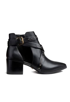 CUT OUT SHOES BLACK, view-small   IvyRevel