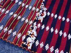 Philippines: Gaddang  textile beading by smark31, via Flickr    http://lyns-shadesofgrey.blogspot.com/2011/08/fabric-of-past.html#