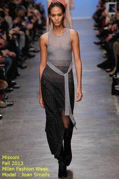#missoni # joansmalls .... Classic missoni, draping,is everything !! #chic # runway