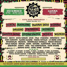 All about Afro Nation Festival and all the best music festivals around the world, including news, lineups, locations and tickets! Accra, Ghana, Hip Hop Festival, Festivals Around The World, Moon Child, The Wiz, Hair Humor, Good Music, December