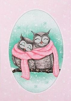 Cold out- would make cute gift , card, etc for Valentine or Christmas or when it's cold
