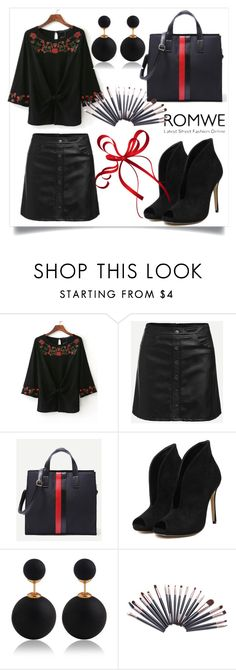 """Romwe no.2"" by almamehmedovic-79 ❤ liked on Polyvore"