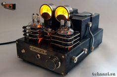 Стилизация лампового усилителя Valve Amplifier, Retro Robot, Raspberry Pi Projects, Audio Design, Small Case, Steampunk Lamp, Hifi Audio, Vacuum Tube, Cool Tech