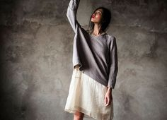 Weekend - chill out in ethically produced silk and lambswool layers... #fashiontakesaction