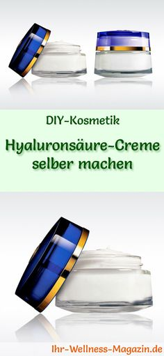 Gesichtscreme selber machen: So können Sie eine Hyaluronsäure-Creme selber machen, probieren Sie das folgende Rezept mit Anleitung ...