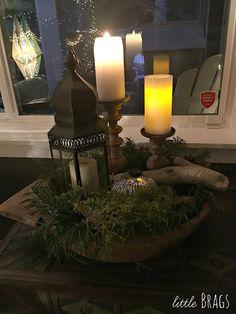 Little Brags: Christmas House Tour At Little Brags