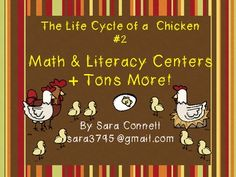 Lifecycles: Chicks Math and Literacy Unit ~ Common Core Aligned Math Literacy, Fun Math, Literacy Centers, Hatching Chickens, Fact And Opinion, Word Sorts, Comprehension Questions, Common Core Standards, Addition And Subtraction