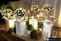 Casamento Natália e Diego - Decoração Design Flor - Piracicaba - Coluna Social - SeuEvento.Net