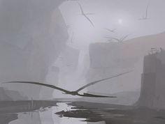 Pterosaur Canyon by Mr--Jack.deviantart.com on @deviantART