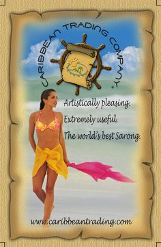 New blog post: How to Tie on A Sarong or Pareo http://caribbeantrading.com/how-to-tie-on-a-sarong-or-pareo/  #HowTo #DIY