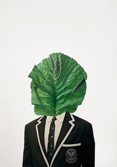 Erin Hegg / EL LECHUGA Manual collage from found materials Magazine print on 180 gsm white paper 350 x 500 mm 2010