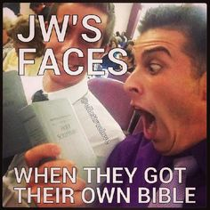 Precisely!!! ^-^  My face is still like this!  I love Jehovah.....