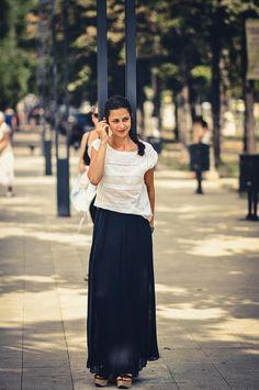 Carmen la #ascultacumine pe www.alexdamian.ro Lace Skirt, Skirts, Fashion, Moda, Fashion Styles, Skirt, Fashion Illustrations, Gowns